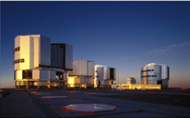 The VLT at Paranal (Chile)